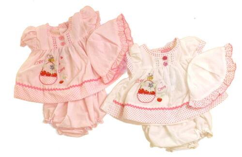 Baby Girls Premature Reborn Pink White Dress Pants Hat Set 3-5lbs 5-8lbs NB