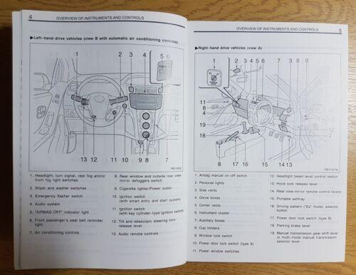 GENUINE TOYOTA YARIS OWNERS MANUAL HANDBOOK WALLET 2006-2011 PACK M-696