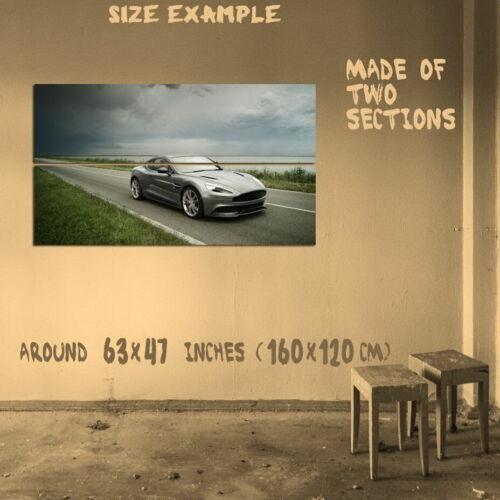 198695 Aston Martin Vanquish Supercar Car Print Poster Affiche