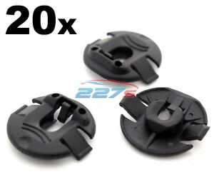 10Pcs Plastic Car Wheel Arch Lining Fastener Retainers Clips For Audi A1 A4 A5