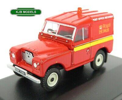 BNIB OO GAUGE OXFORD 1:76 76LR2AS002 Land Rover S IIA SWB Hard Top Royal Mail
