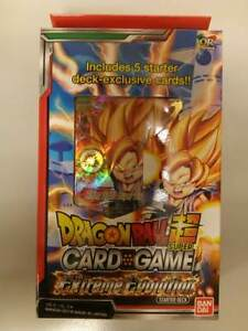 Starter Deck The Extreme Evolution Verzamelingen Dragon Ball Super Card Game Verzegelde boosters