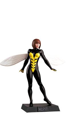 Eaglemoss Supereroi Marvel Avengers WASP Statuina Piombo MIB 2011