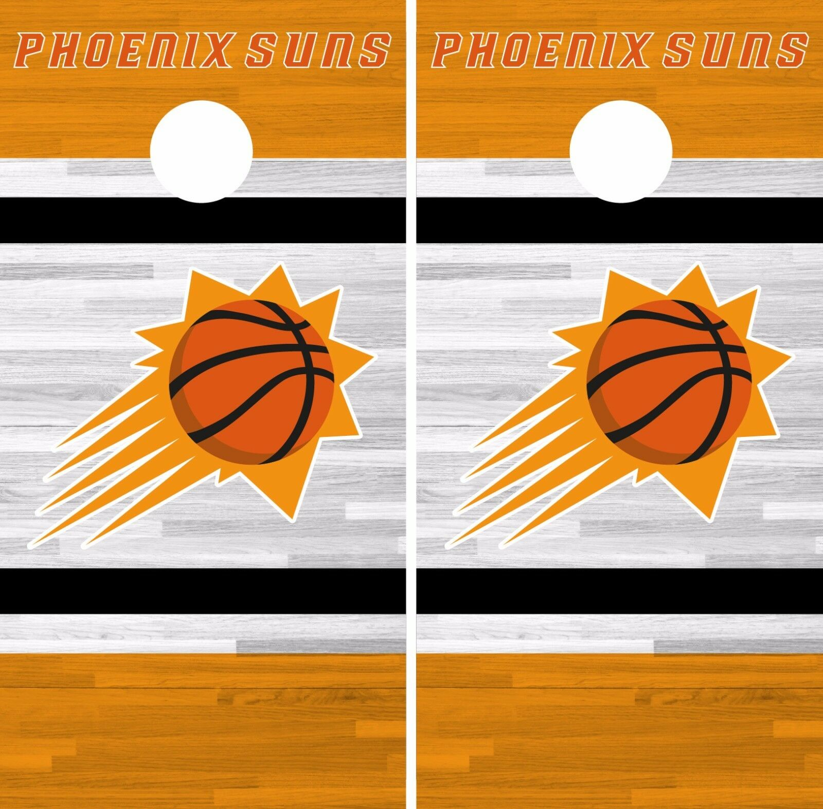 Phoenix Suns Cornhole  Skin Wrap NBA Basketball Team colors Vinyl Decal DR320  save 60% discount and fast shipping worldwide