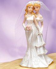 Lesbian Wedding Cake Topper Romance Gay Partner Couple Centerpiece Favor Gift