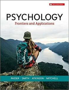 Psychology Frontiers and Applications 6th Edition Canada Preview