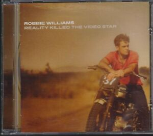 Robbie Williams cd Reality killed the video star