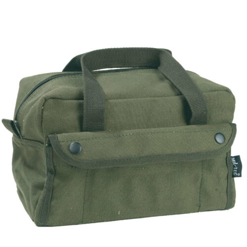 US Army Type Military Cotton Canvas DIY EDC Tool Gear Equipment Storage Bag Case