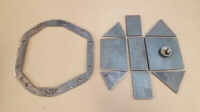 "DIY Heavy Duty Dana 30 Differential Cover Kit Weld it Yourself 1//4/"" Steel"