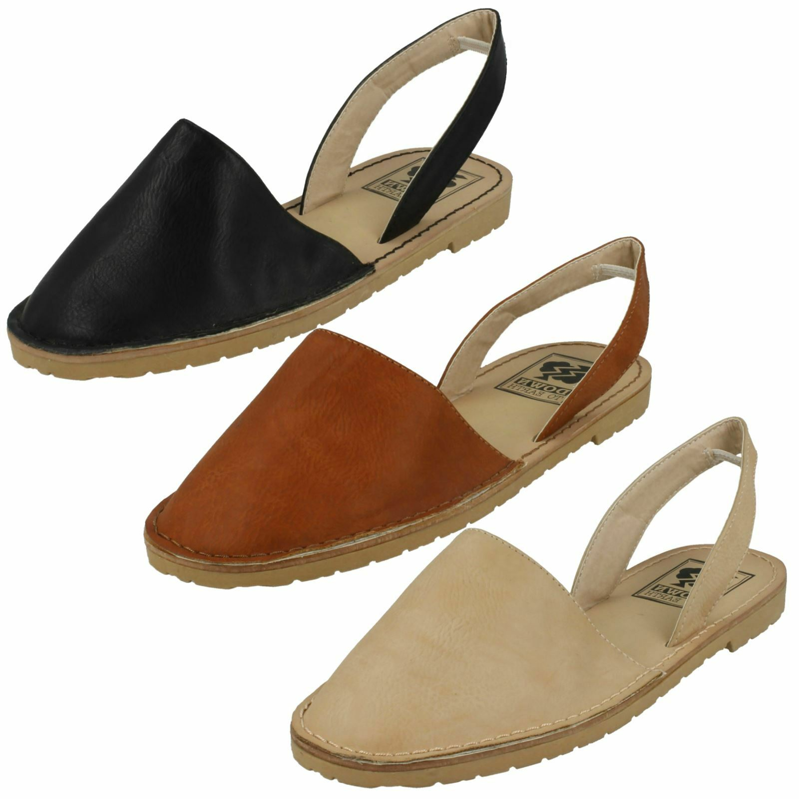 Down To Slingback Earth Ladies Closed Toe Slingback To Mule a34706