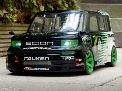 Toyota BB 1//10 scale RC body yokomo tt01 ms01 drift tamiya mst yd2 Scion Xb