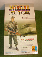 DRAGON 1/6 SCALE WW II GERMAN EX DISPLAY ERNST - WEHRMACHT SNIPER - UKRAINE 1944