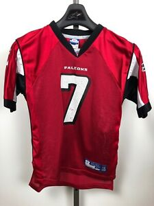 Reebok NFL Equipment Atlanta Falcons #7 Michael Vick Jersey Youth ...