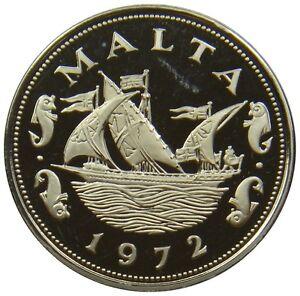 E31-Malte-10-Cents-1972-Cuisine-Navire-Proof-km-11