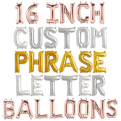Oh Baby Balloons Birthday  Decor Choose Your Letters Custom Balloons Silver Mylar CUSTOM Letter Balloons Baby Shower Decor