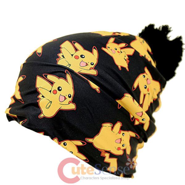 100% Vero Pokemon Pikachu Ovunque Stampa Berretto Pikachu Cappello (teen-adult) Moderno Ed Elegante Nella Moda