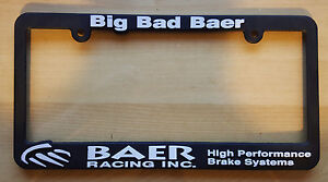 image is loading baer high performance brake system license plate frame