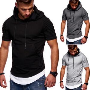 Behype-Hooded-T-Shirt-Oversize-Biker-Style-Longline-Black-Grey-Navy-White-NEW