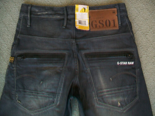 Bnwt 'riley Jeans Homme G Taille Tapered' Pour Loose 28 Star O4dd7x8
