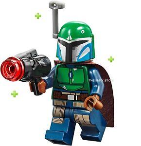LEGO STAR WARS FEMALE DARK BLUE MANDALORIAN WARRIOR FIGURE ...