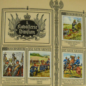 Cigarette-Card-Album-German-Imperial-Army-Reichsheer-w-328-tobacco-Uniforms-Book