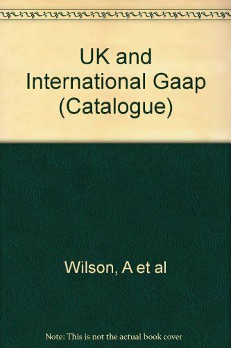 UK and International Gaap (Catalogue),Allister : Davies Wilson