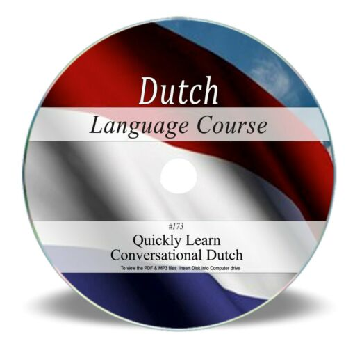 Dutch Language Course on CD - Learn to Speak 39 Hrs Audio MP3  Book PDF 173
