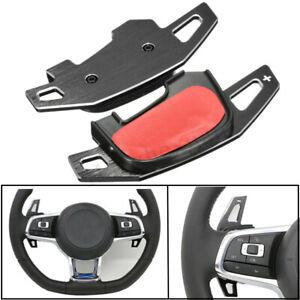 Pair-Car-Steering-Wheel-Gear-Shift-Extension-Paddle-For-VW-Golf-MK7-7-GTI-GTD