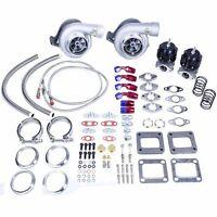 Camaro Corette Trans Am Ls1 Ls2 Ls6 T4 Twin Turbo Charger Set Up Kit