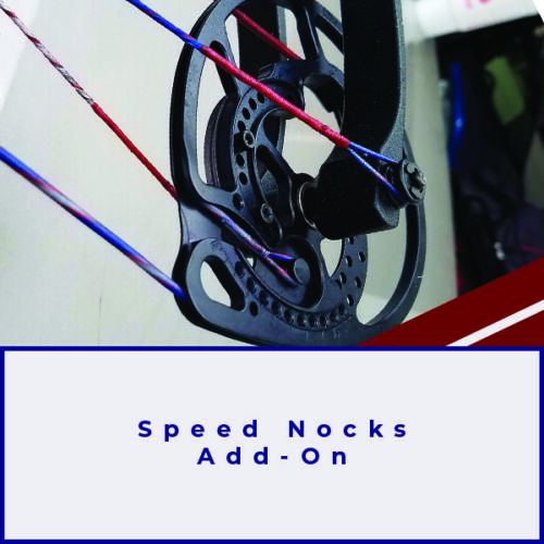 ADD ON Speed nocks for Compound and Crossbow