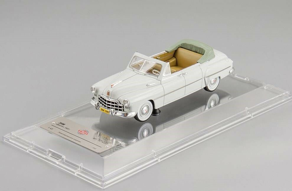 ZIM GAZ 12 Cabrio 1949 DIP Models resin 101220 1 43