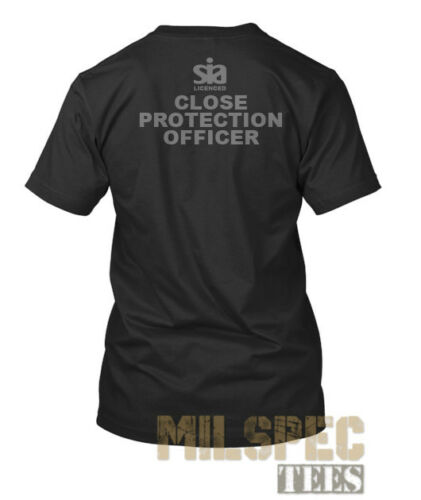SIA Licenced CLOSE PROTECTION OFFICER Wicking Summer Uniform T Shirt