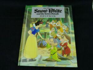 Walt-Disney-039-s-Snow-White-and-the-Seven-Dwarfs-Pop-Up-Book-1993-Children-039-s