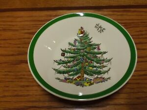 SPODE CHRISTMAS TREE SMALL BOWL 5 INCHES ACROSS THE TOP MADE IN ENGLAND   eBay