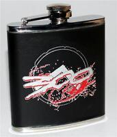 300 Frank Miller 2007 Movie Spartan King Leonidas Shield Stainless Steel Flask