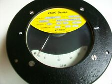 Erdco Series 2500 Flow Meter Hydraulic Oil 0 20 Gpm 4 2500 All 6680 00 78