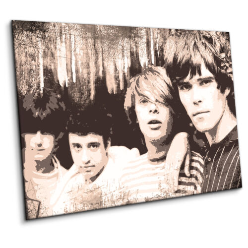 """Ready to Hang The Stone Roses Large Canvas Print 36 x 50/"""" Ian Brown John Squire"""
