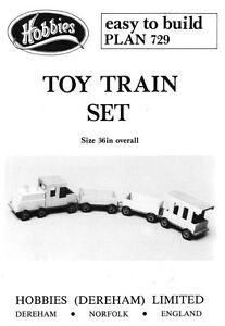 Details About Hobbies 39 Wooden Toy Train Set Plans Make A Great Retro Childs Toy