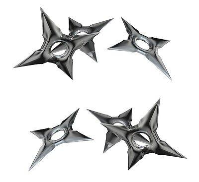 Ninja Throwing  Multi Chinese Star Decal Sticker