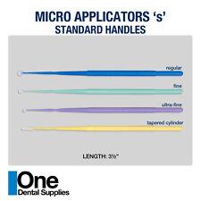 Dental Disposable Micro Brush Applicators Regular Assorted Color 800 Pcs