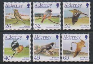 Alderney-2004-Migrating-Oiseaux-Passerines-3rd-Series-Ensemble-MNH-Sg-A235