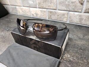e67add4951ee1 Oakley Gauge 8 M Matte Black Prizm Black Polarized Sunglasses OO4124 ...