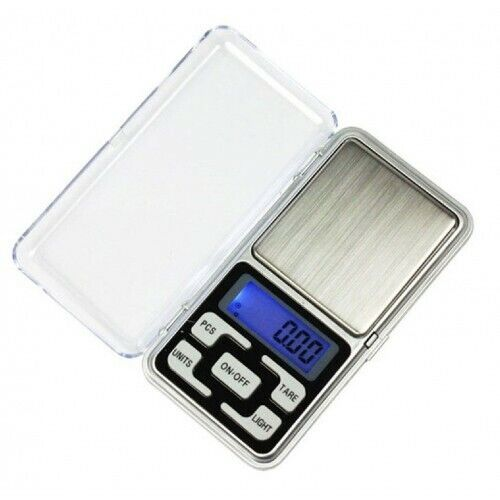 Electronic Pocket Scale with LCD Display.