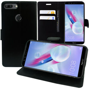 Housse-Etui-Pochette-Portefeuille-Support-Video-Stylet-Huawei-Honor-9-Lite-5-65-034