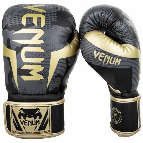 Venum Elite Limited Edition Camo Guantoni Da Boxe-Mimetico Gold//Dark//Grigio