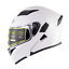 DOT-Double-Visor-Motorbike-Flip-Up-Modular-Helmet-Motorcycle-Full-Face-Helmets miniature 20
