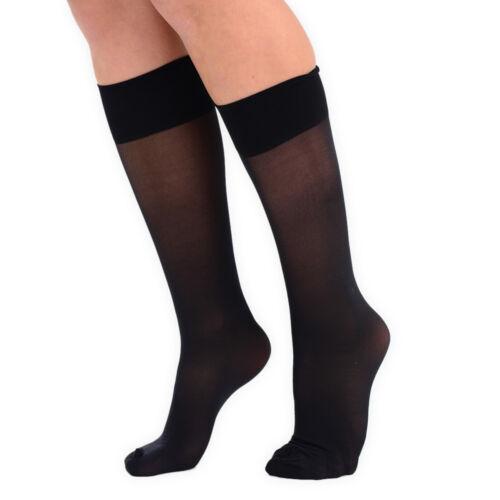 Womens Tudorose Travel Weight Support Socks Knee High One Size Lycra Everyday