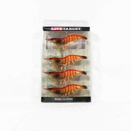 5299 Live Target SSF75SK915 Soft Köder Shrimp 3 Zoll Pink
