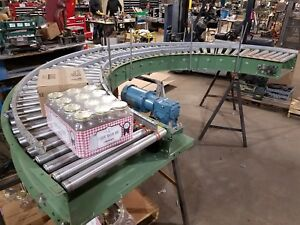 Details about POWERED ROLLER CONVEYOR