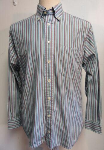 button down London Sz Multi gestreept overhemd 100katoenblauw M color Burberry gy7b6Yf